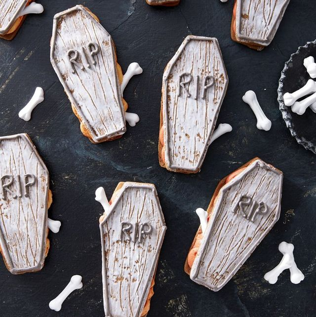 fall desserts coffin cookies