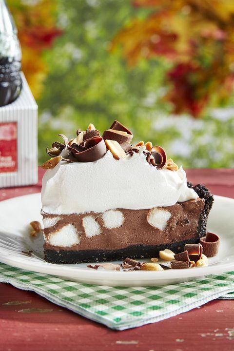 fall desserts rocky road pie