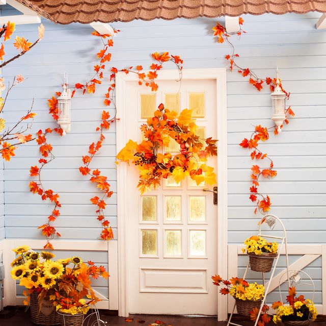 24 Fall Door Decorations Ideas For