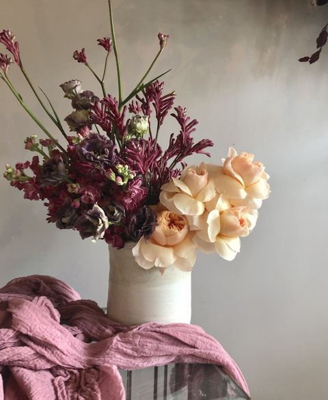 fall flower arrangement bricolage curated florals veranda