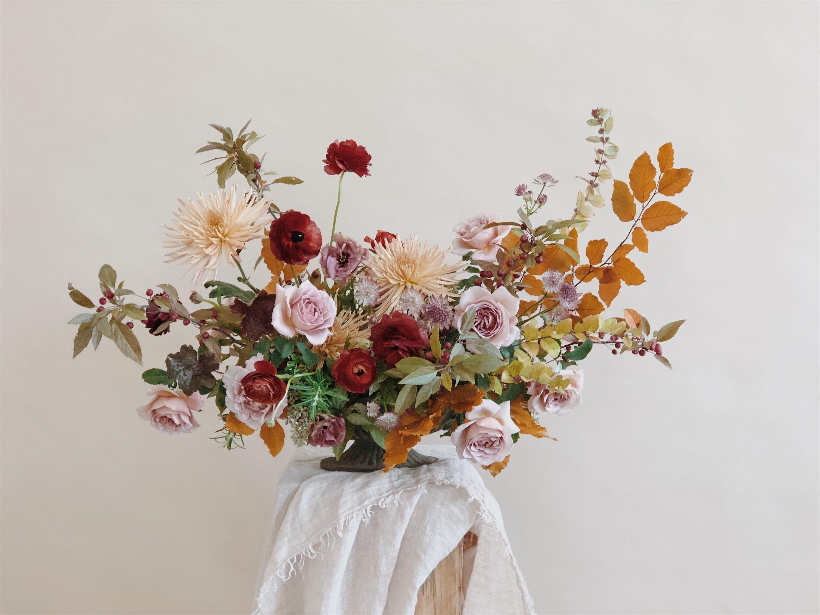 6 Fall Flower Arrangements Create A Gorgeous Floral Centerpiece
