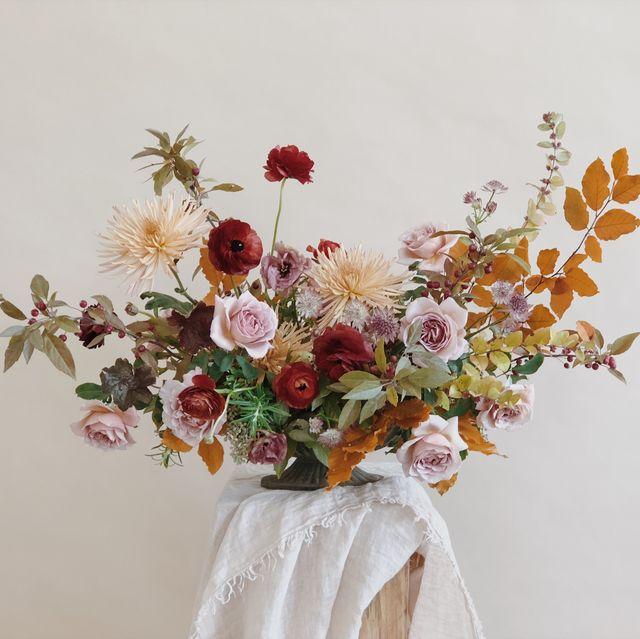 13 Fall Flower Arrangements Create A Gorgeous Floral Centerpiece