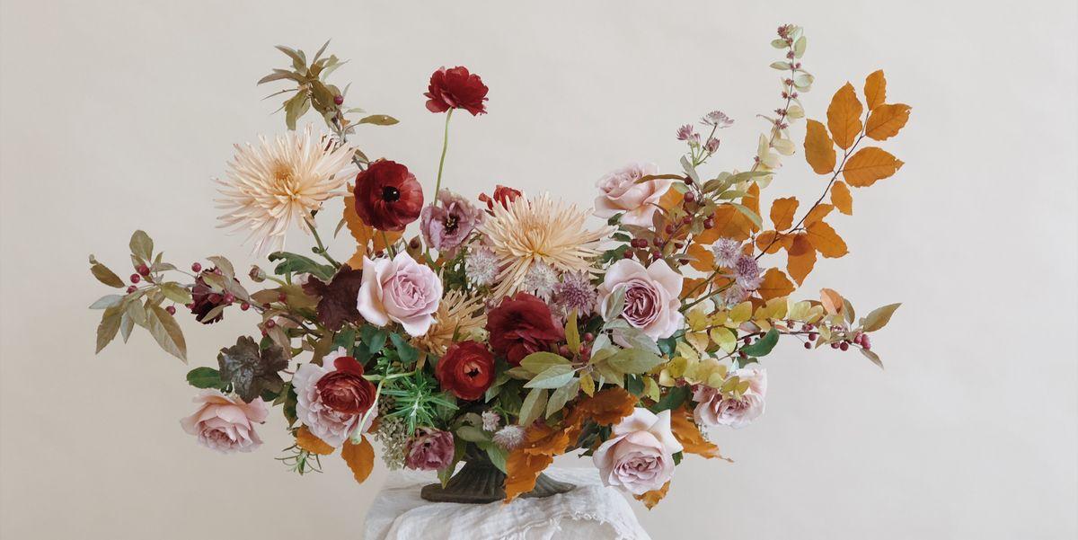 6 Fall Flower Arrangements Create A Gorgeous Floral