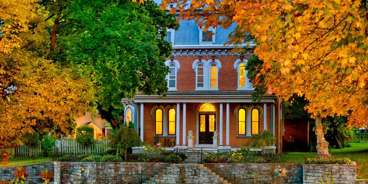 best bed and breakfasts and inns for fall foliage