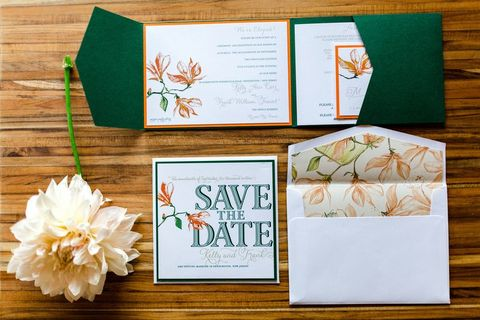 best fall wedding invitations
