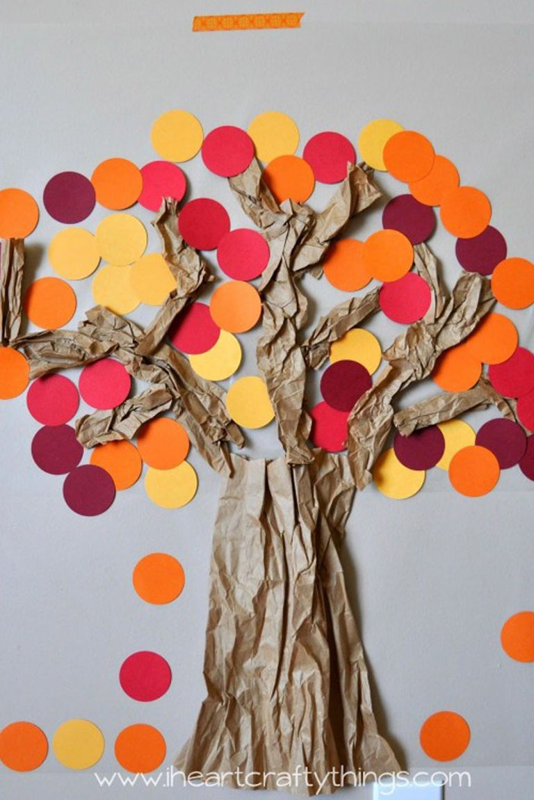 45 Fall Crafts For Kids - Fall Activities and Project ...