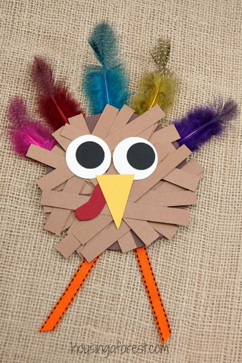44 fall crafts for kids fall activities and project for Turkey country arts and crafts
