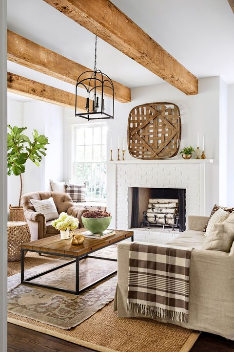 25 Stylish Fall Mantel Decor Ideas Best Autumn Mantel Decorations