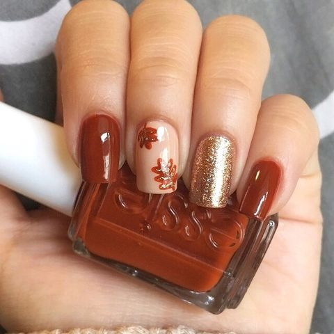 15 Best Thanksgiving Nail Ideas For 2018 Festive Thanksgiving Nail Art