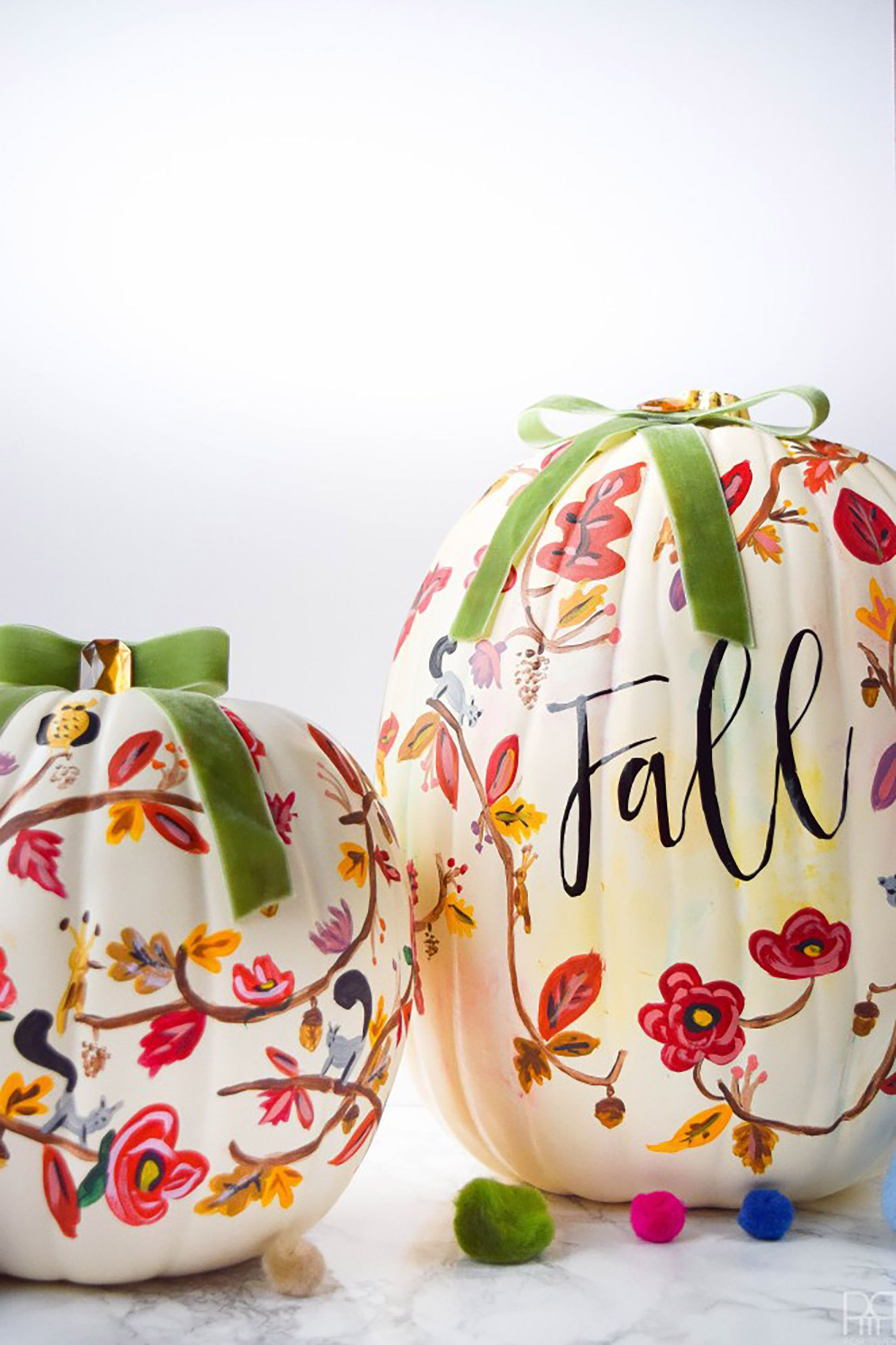 Fall Pumpkin Painting Idea