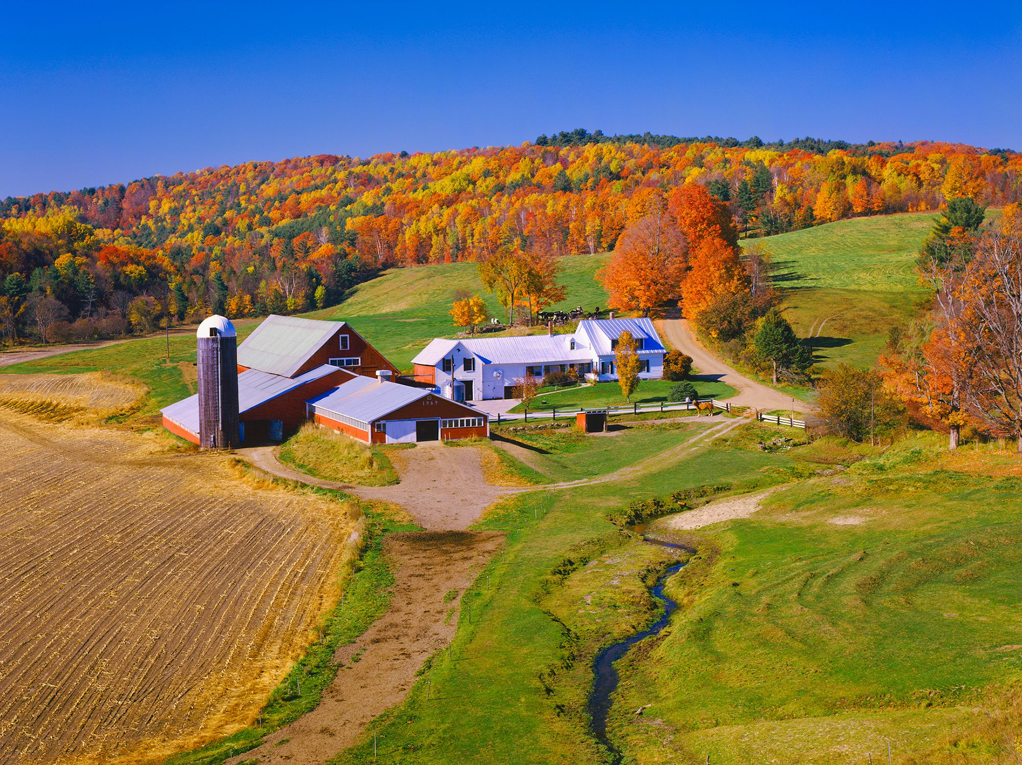 fall pictures - vermont countryside