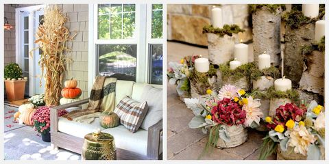 15 Fall Porch Decor Ideas Best Outdoor Autumn Decorations
