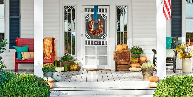 33 Fall Porch Decor Ideas Best Autumn Front Porch Decorations