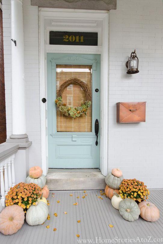 Beautiful Fall Porch Decorating Ideas
