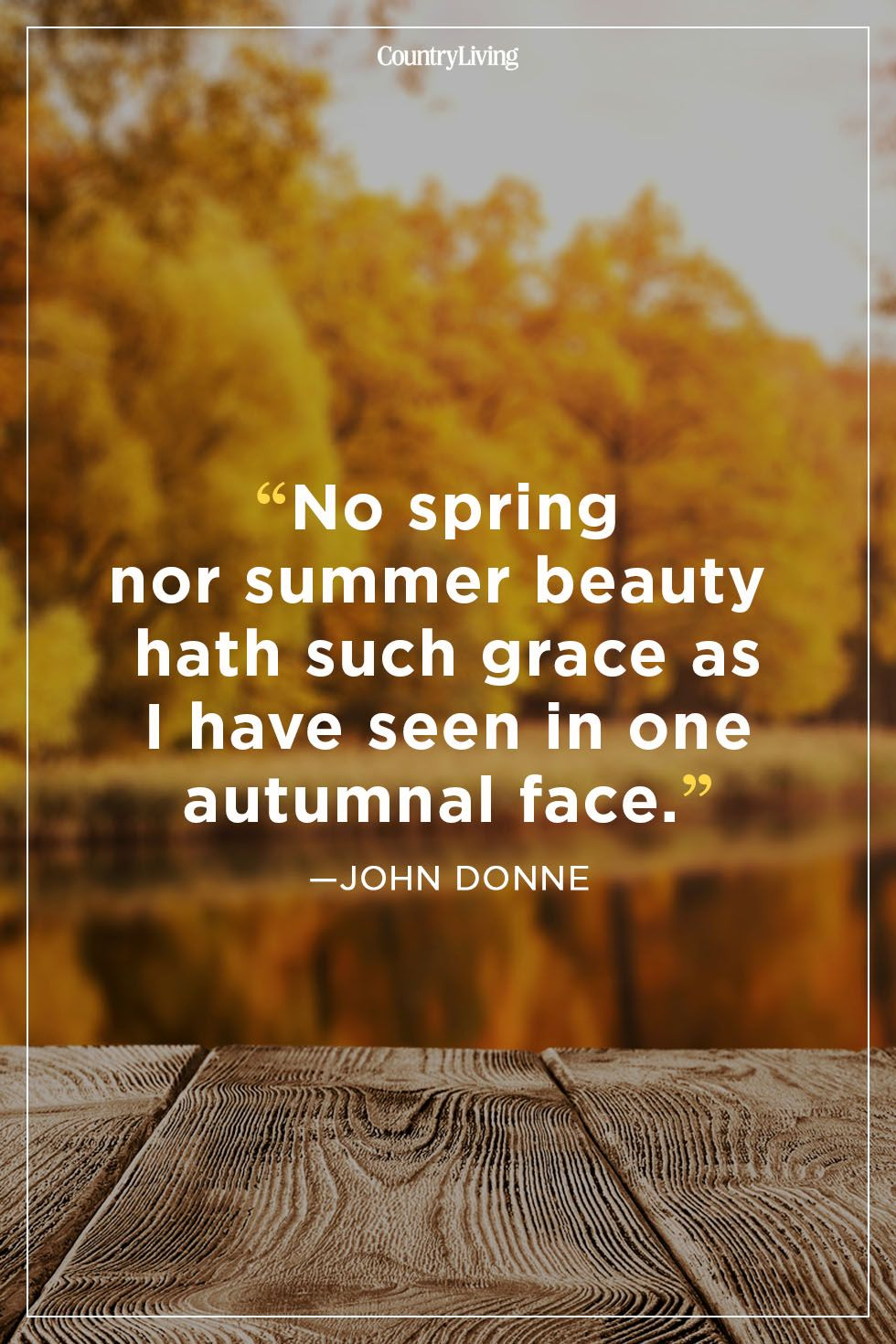 Fall Quotes John Donne