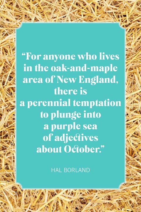 hal borland fall quotes