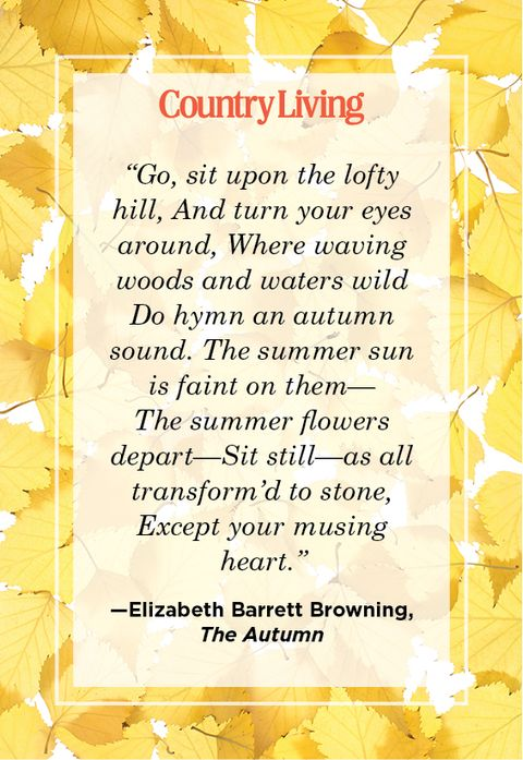 quote from the autumn by elizabeth barrett browning