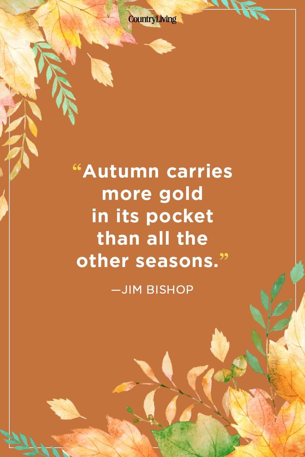 fall quotes - jim bishop