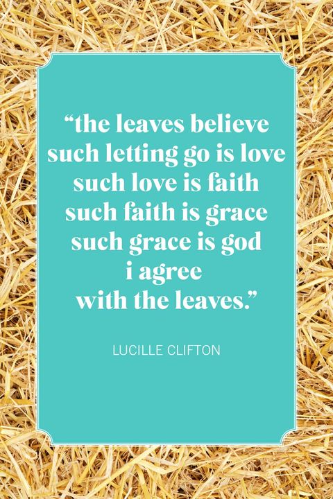 fall quotes lucille clifton