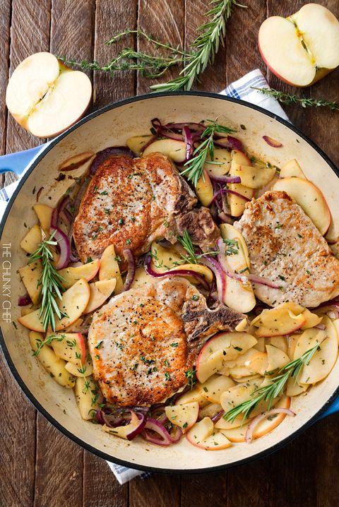 Fall Recipes Pork Chops