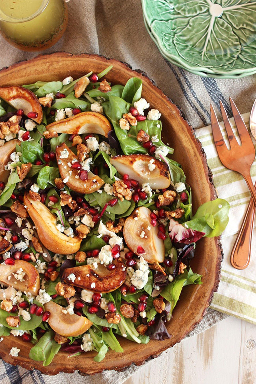 fall salad recipes pear