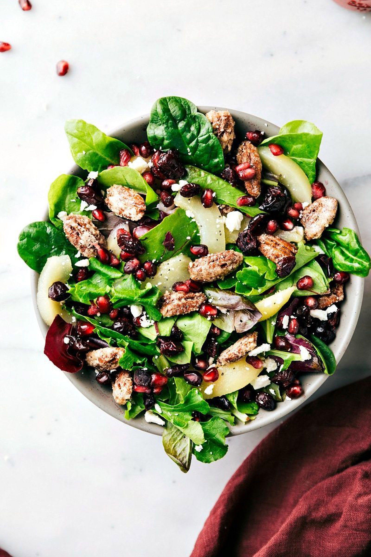 fall salad recipes pecan