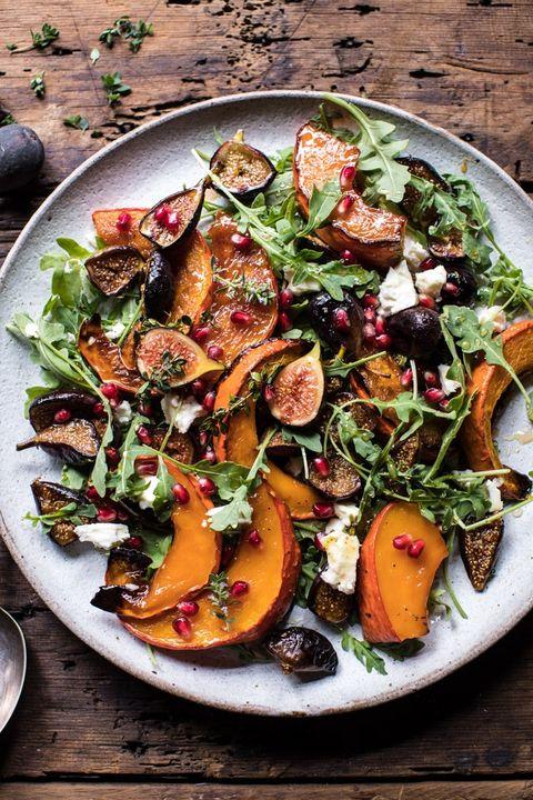 fall salad roasted squash
