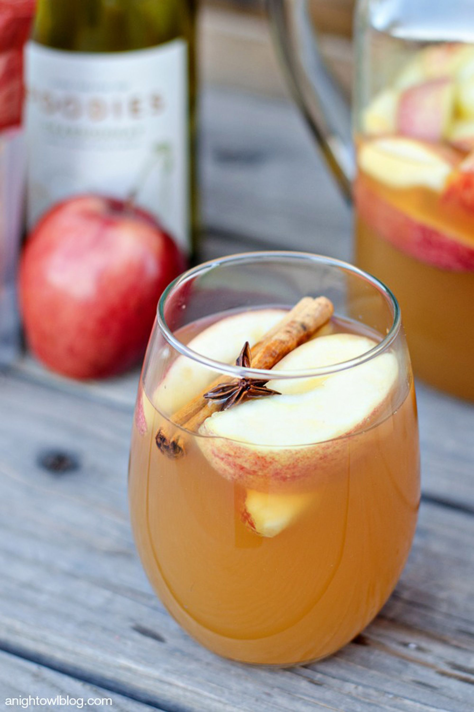 fall sangria cider mulled