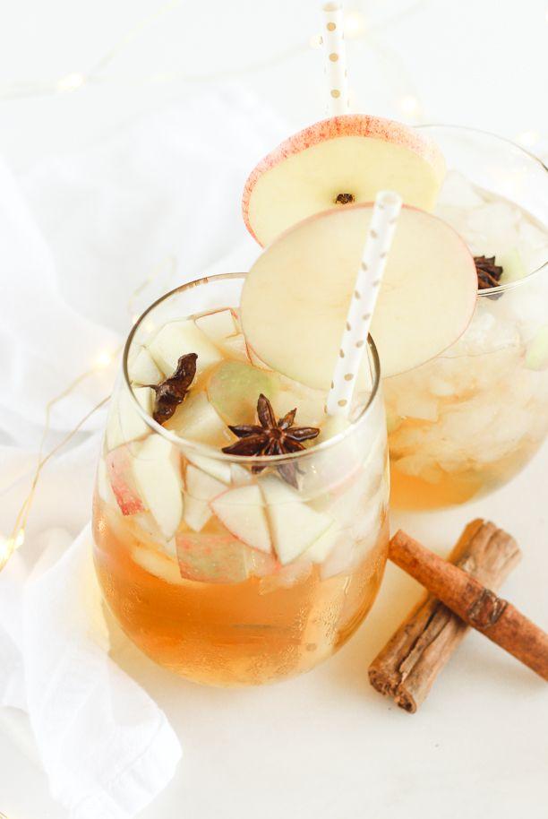 fall sangria recipes apple cider