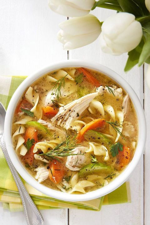 fall soups ultimate chicken noodle soup