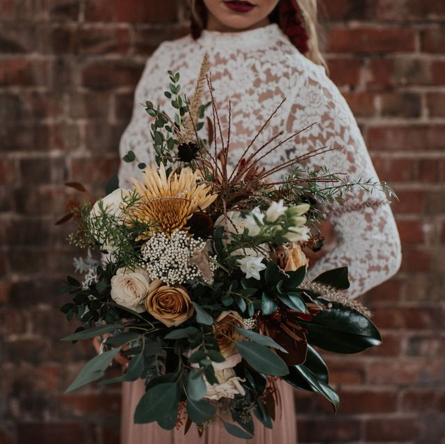 Wedding Bouquets Not Flowers: Fall Flowers For Wedding Bouquets