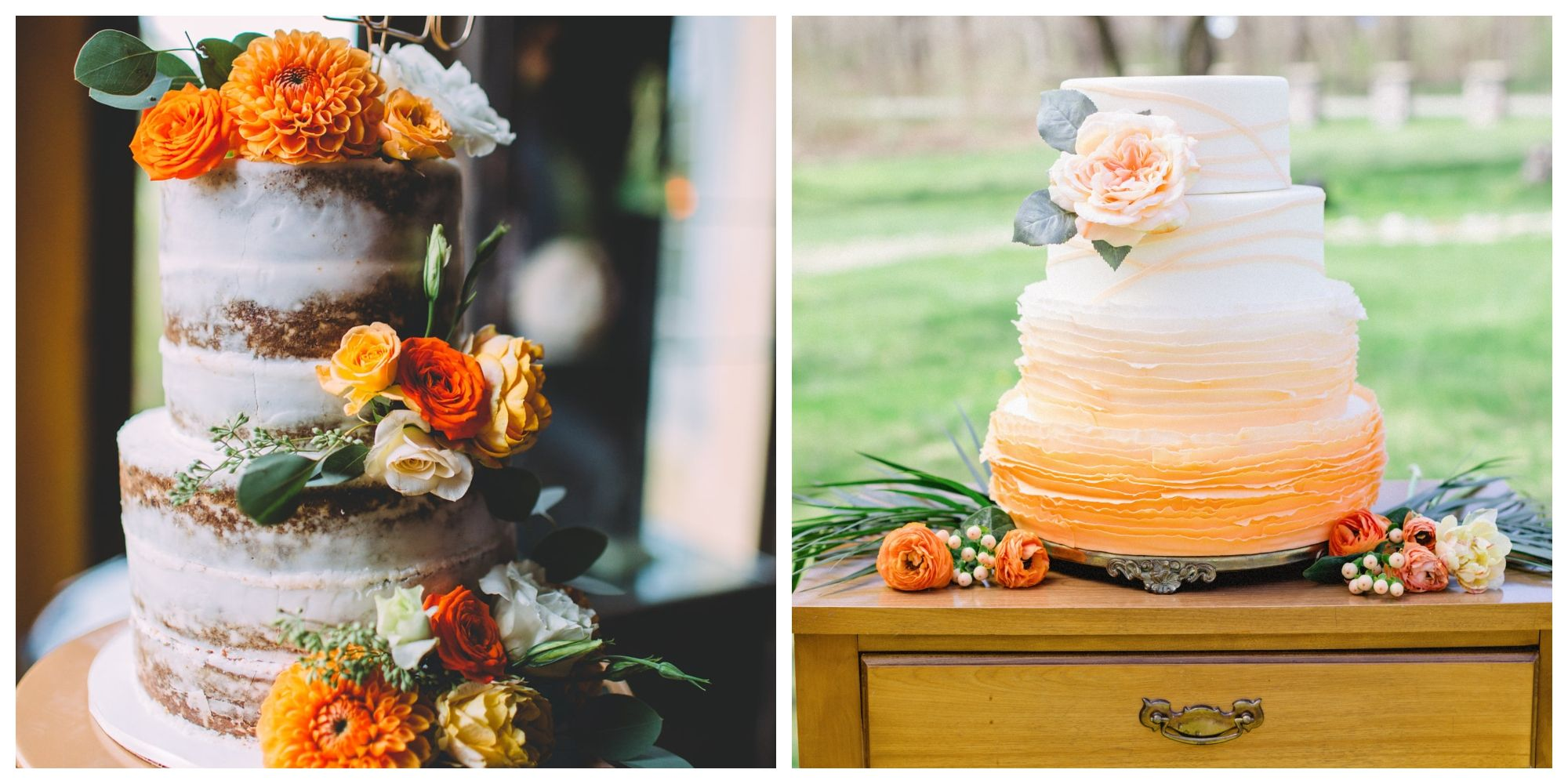 diy fall wedding cakes country amp diy wedding ideas decorations and projects for 13607