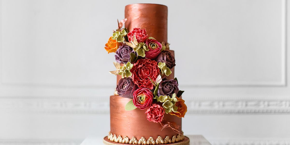 15 Elegant Fall Wedding Cakes Ideas For Fall Wedding Cake Flavors
