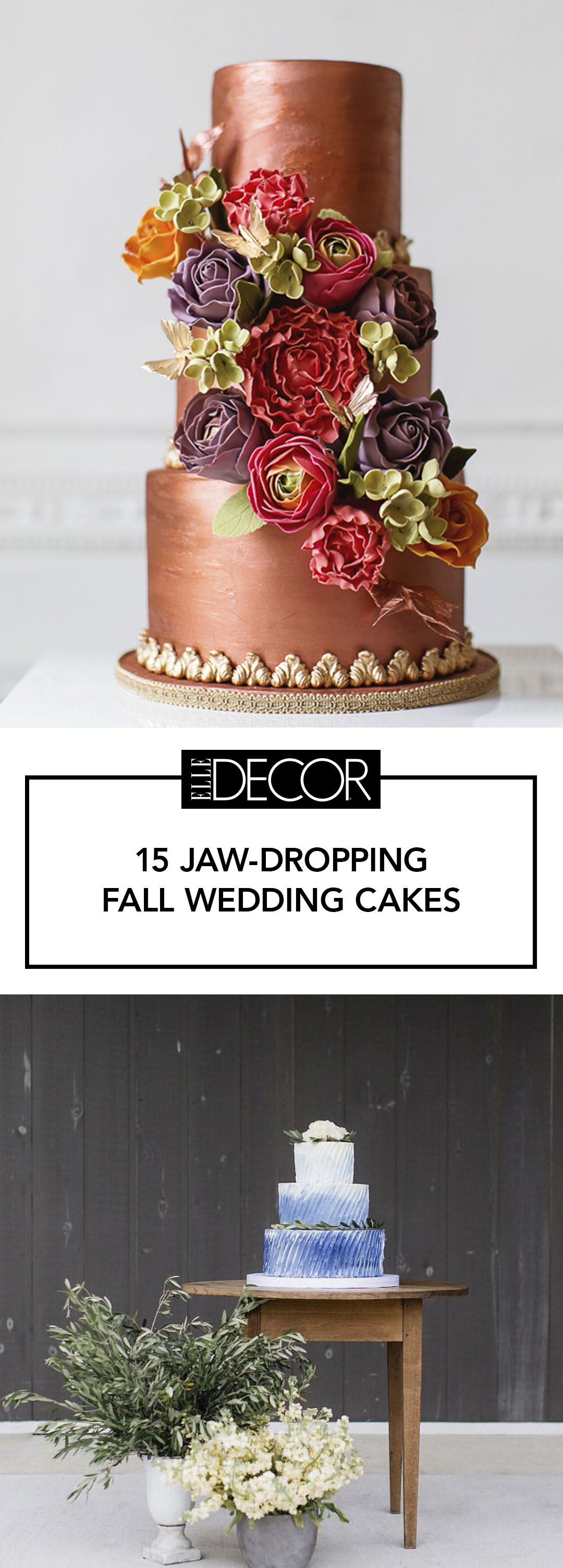 15 elegant fall wedding cakes ideas for fall wedding cake flavors 15 elegant fall wedding cakes ideas for fall wedding cake flavors and design junglespirit Image collections
