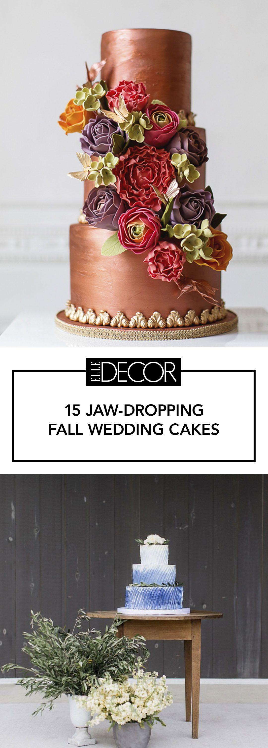 15 elegant fall wedding cakes ideas for fall wedding cake flavors 15 elegant fall wedding cakes ideas for fall wedding cake flavors and design junglespirit Choice Image