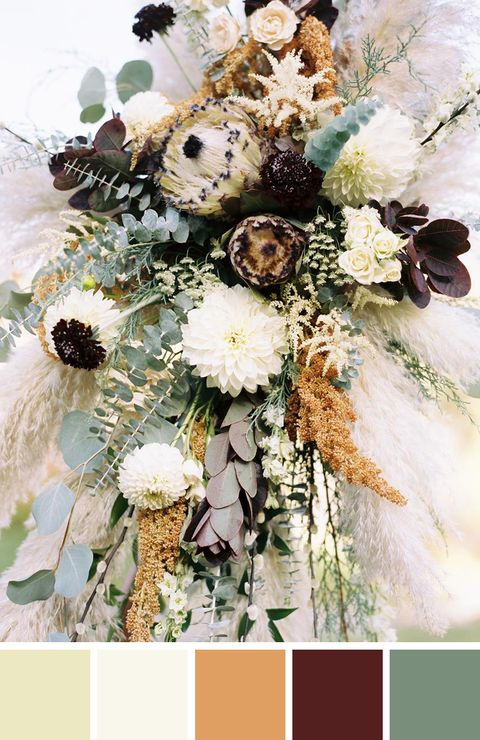 55 Best Fall Wedding Colors - Gorgeous Wedding Color ...