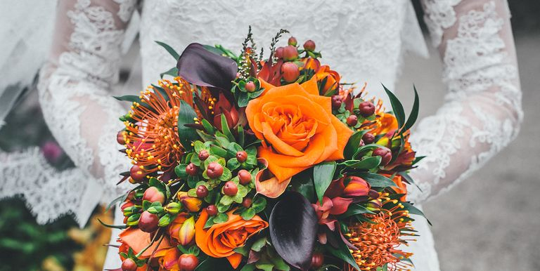 20 best fall wedding flowers wedding bouquets and centerpieces fall wedding flowers junglespirit Image collections