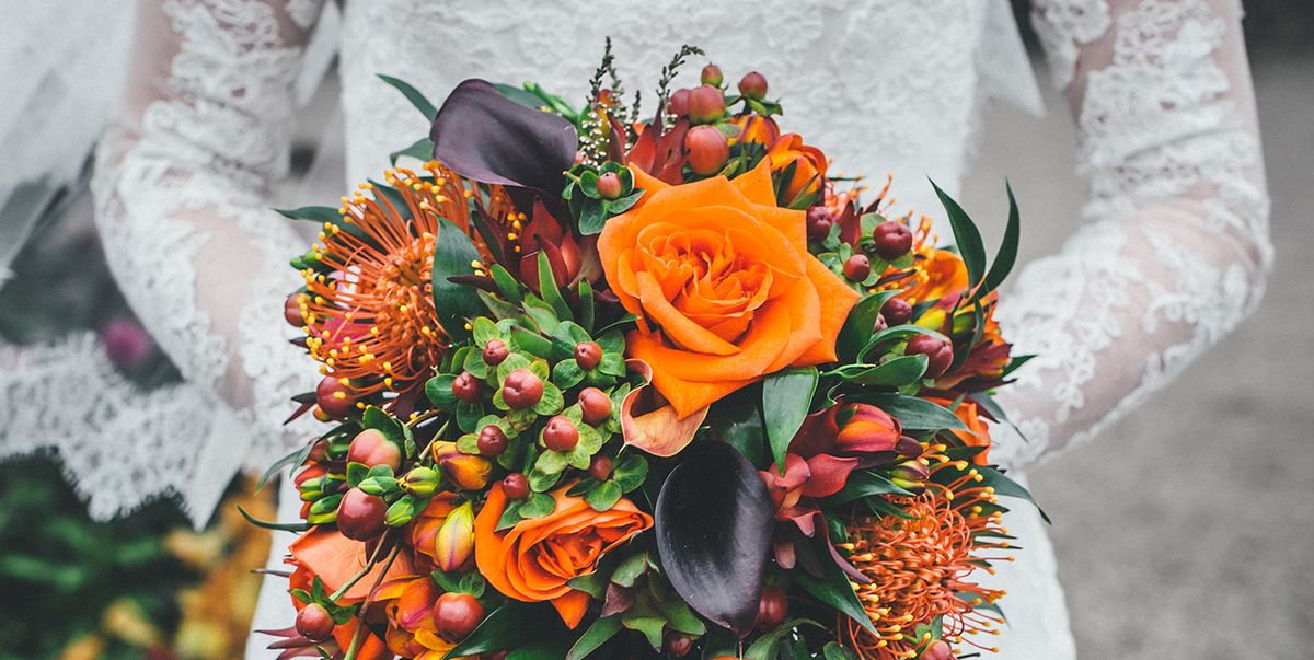 20 Best Fall Wedding Flowers Wedding Bouquets And