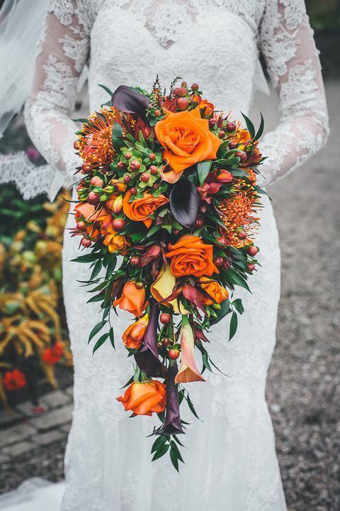 20 best fall wedding flowers wedding bouquets and centerpieces for fall wedding flowers junglespirit Gallery