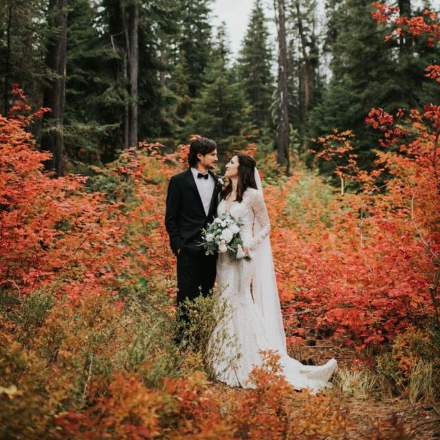 Rustic Decorations For A Fall Wedding