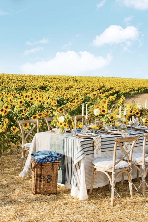 fall wedding ideas sunflowers