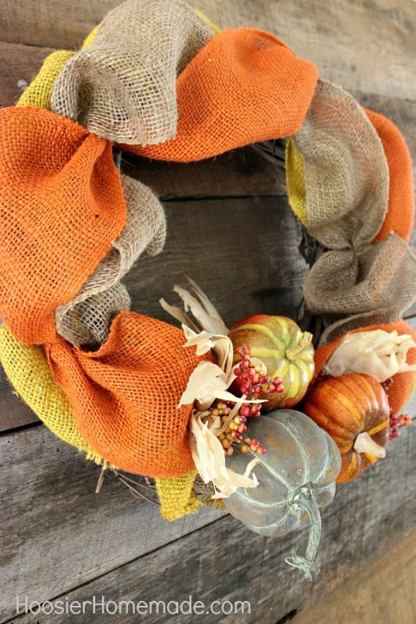 38 Diy Fall Wreaths Ideas For Autumn Wreath Crafts