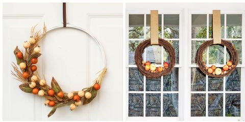 38 Diy Fall Wreaths Ideas For Autumn Wreath Crafts