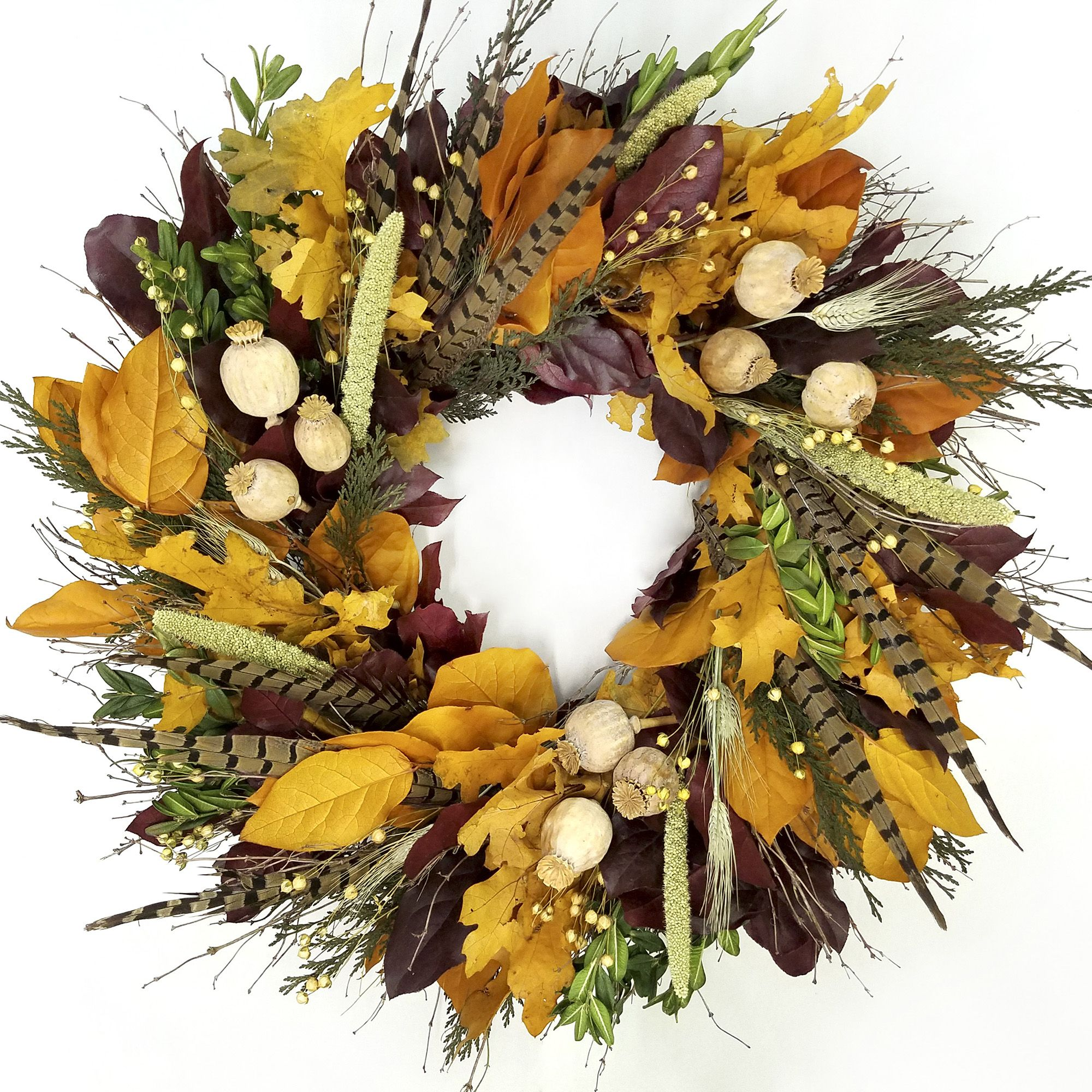 22 Best Fall Wreaths - Autumn Door Decorations