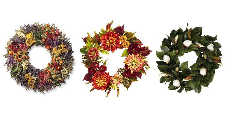 22 Best Fall Wreaths - Autumn Door Decorations