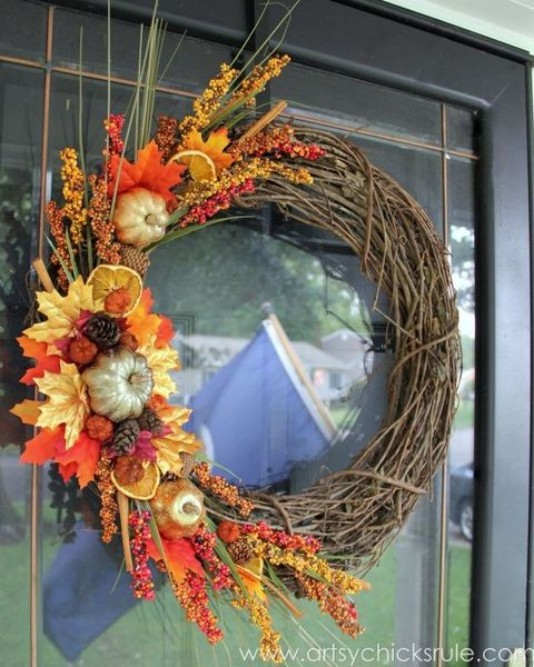 60 Best Diy Fall Wreaths Ideas For Autumn Wreath Crafts