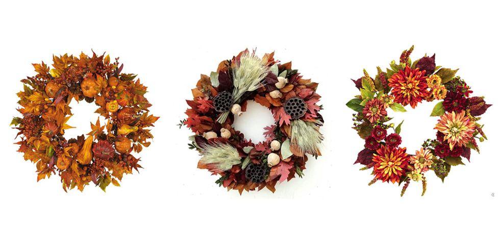 25 Best Fall Wreaths Autumn Door Decorations