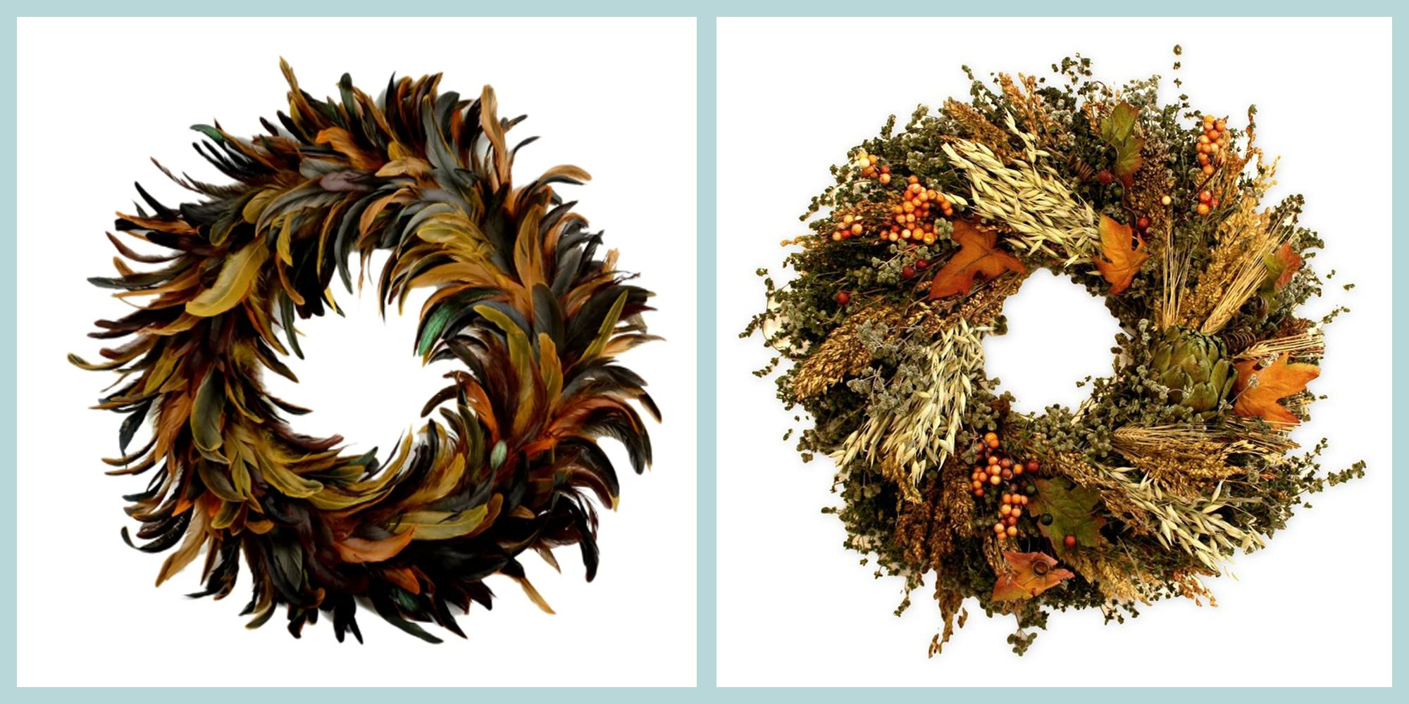 30 Stylish Fall Wreaths Door