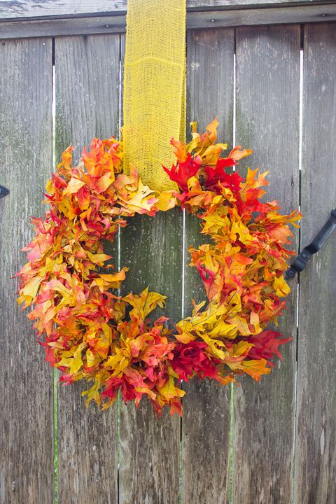 fall wreaths leaves