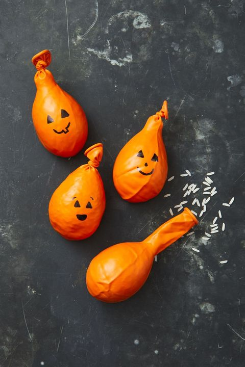 Fall Crafts Pumpkin Stress Balls